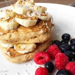 vegan pancakes? UM YES PLEASE