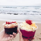 acai and pitaya bowls from Maui Farmers Market