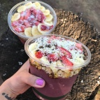 OMG the acai bowls from Choice Health Bar are amazingly delicious!