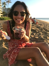 acai bowls on the beach = very very happy Susel :)