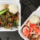 found a filipino food truck EHHRRMYGOD! so yummy!
